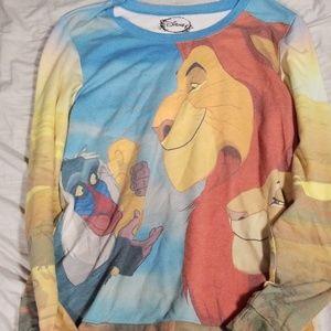 Lion king long sleeve shirt